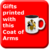 Gifts printed with this Coat of Arms